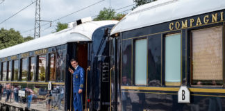 luxury train trips to take
