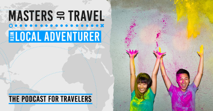 masters of travel with local adventurer